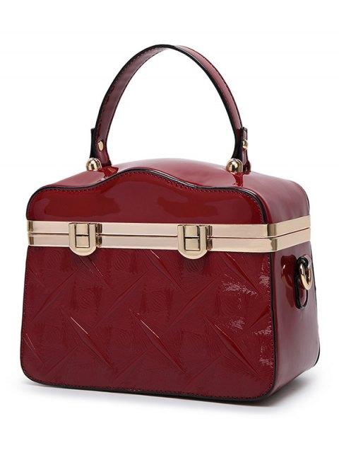 best Embossed Metal Trimmed Handbag -   Mobile