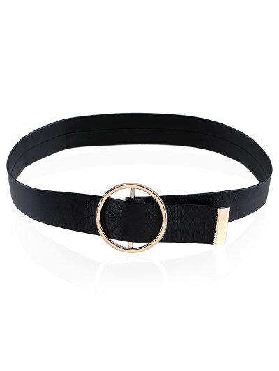 Round Buckle Choker - BLACK  Mobile