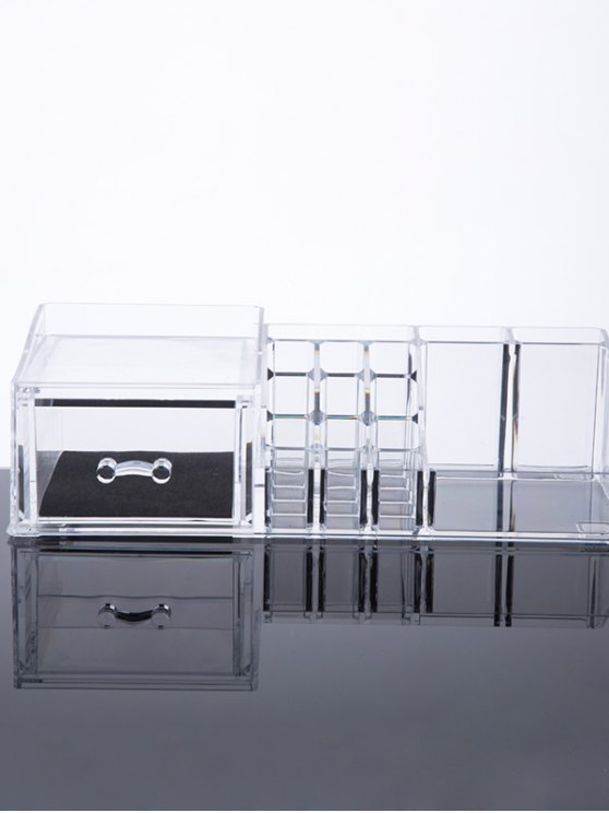 Jewelry Makeup Organizer - TRANSPARENT  Mobile