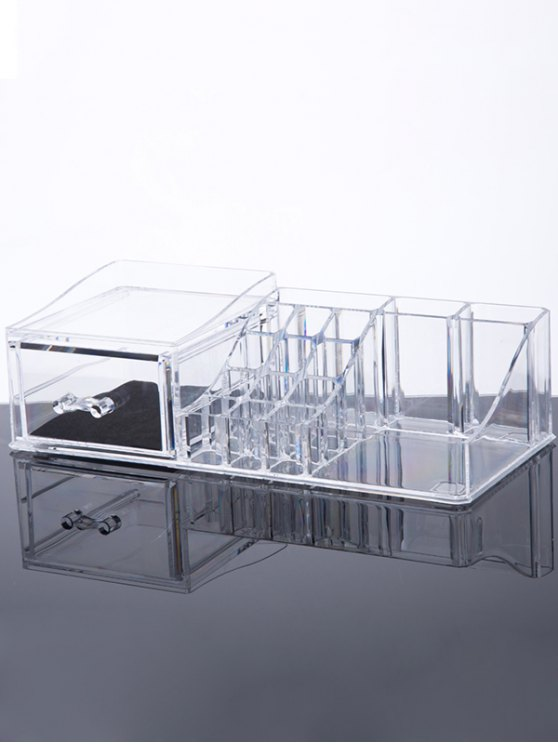 shop Jewelry Makeup Organizer - TRANSPARENT