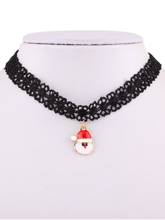 Santa Lace Choker Necklace -   Mobile