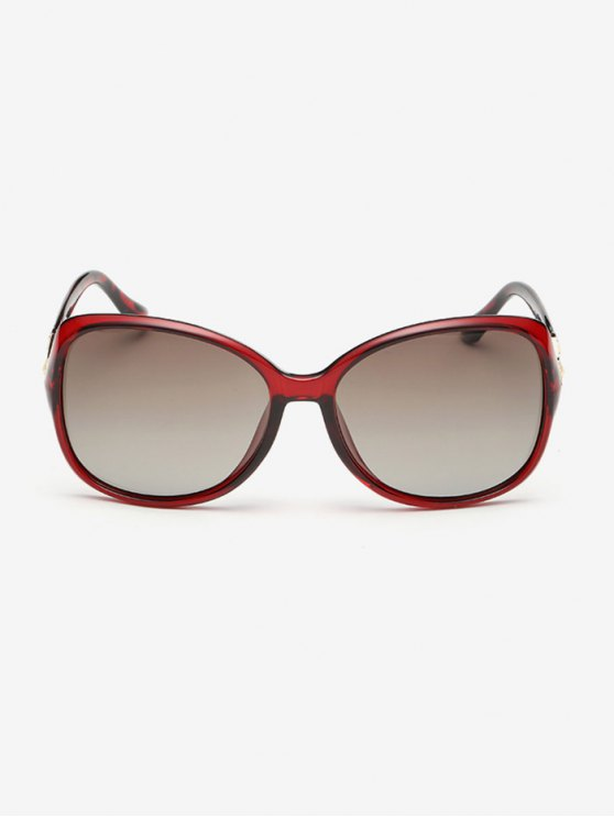 Ombre Butterfly Sunglasses - RED  Mobile