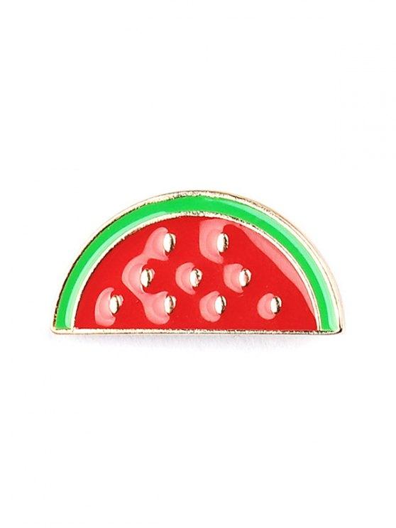 Rainbow Pineapple Watermelon Glasses Brooch Set - COLORMIX  Mobile