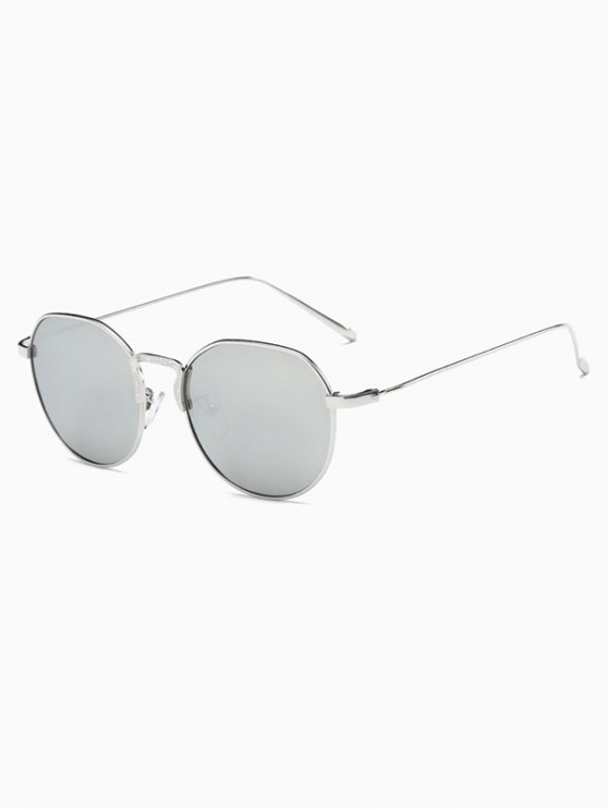 Pilot Mirrored Sunglasses - SILVER  Mobile