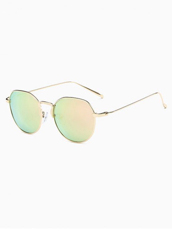 Pilot Mirrored Sunglasses - PINK  Mobile