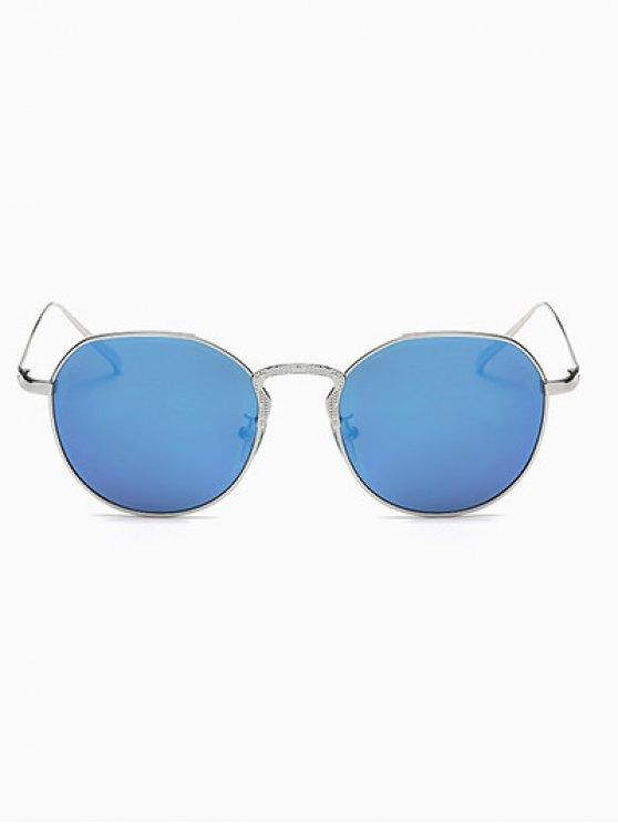 Pilot Mirrored Sunglasses - BLUE  Mobile