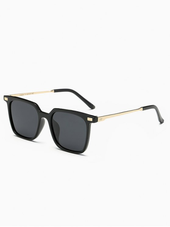 Full Frame Square Sunglasses - BLACK  Mobile