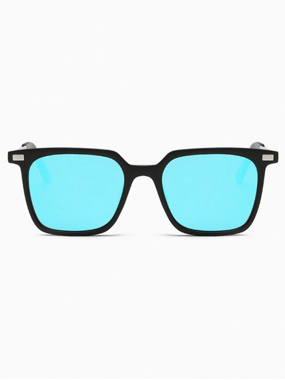 Square Mirrored Sunglasses -   Mobile