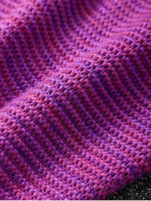 lady Knitted Sleeping Bag Mermaid Blanket -   Mobile