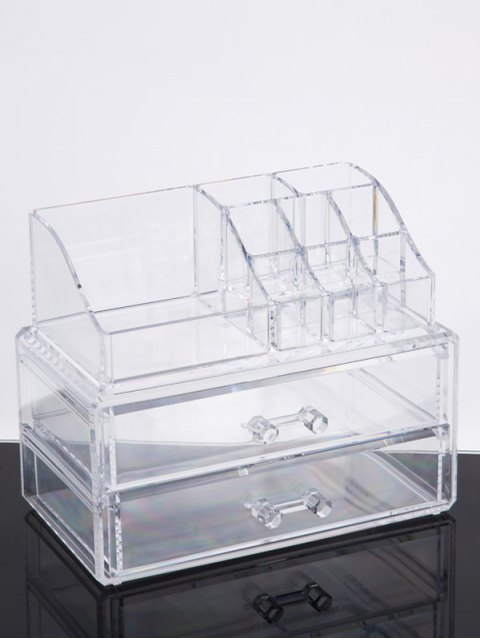 outfit Makeup Organizer Drawer - TRANSPARENT  Mobile