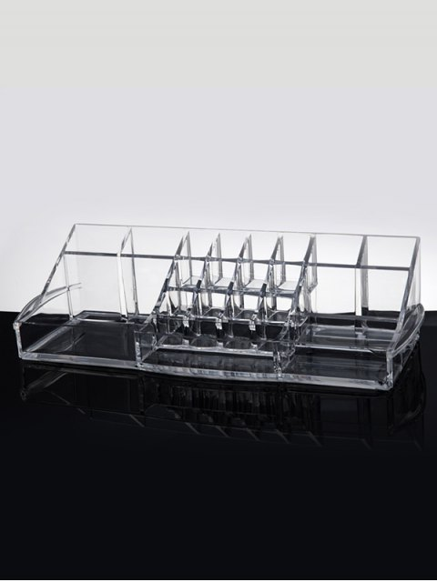 outfits Vanity Makeup Organizer - TRANSPARENT  Mobile