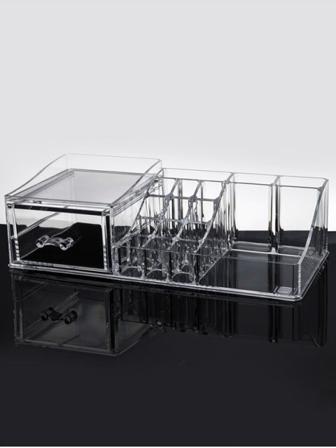 shop Jewelry Makeup Organizer - TRANSPARENT  Mobile