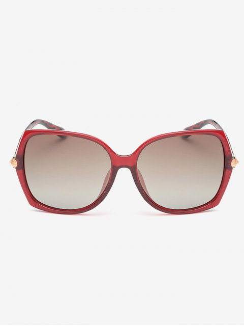 outfits Butterfly Ombre Sunglasses - RED  Mobile