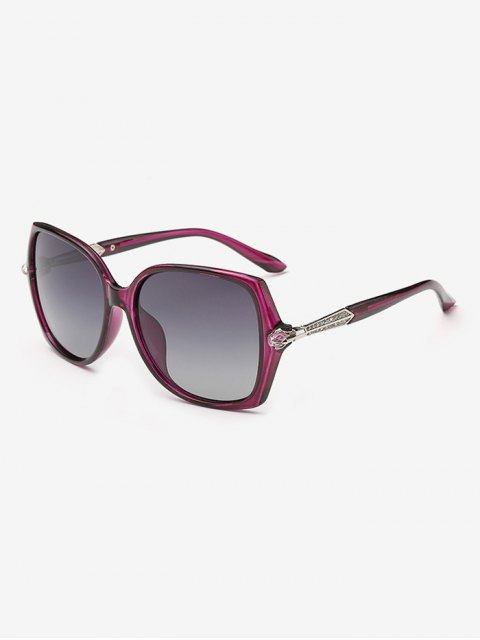 shop Butterfly Ombre Sunglasses - PURPLE  Mobile
