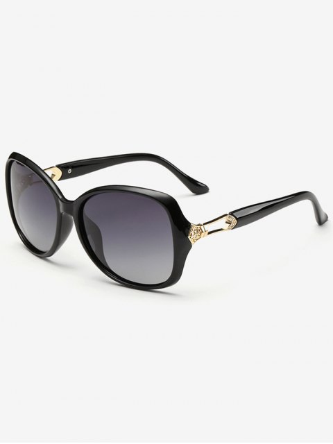 chic Ombre Butterfly Sunglasses - PHOTO BLACK  Mobile