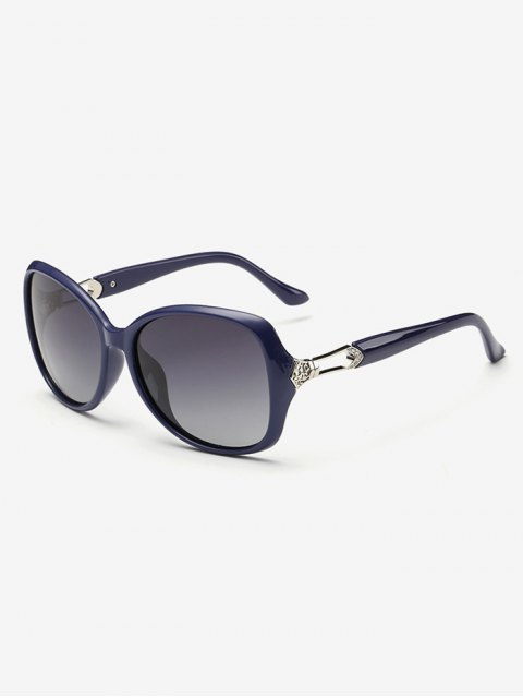 fashion Ombre Butterfly Sunglasses - BLUE  Mobile