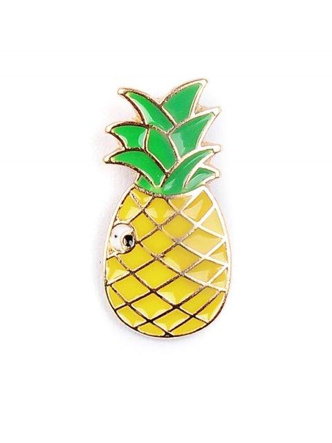 shops Rainbow Pineapple Watermelon Glasses Brooch Set - COLORMIX  Mobile