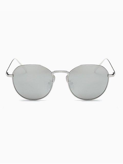 buy Pilot Mirrored Sunglasses - SILVER  Mobile