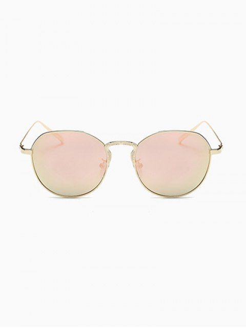 women Pilot Mirrored Sunglasses - PINK  Mobile
