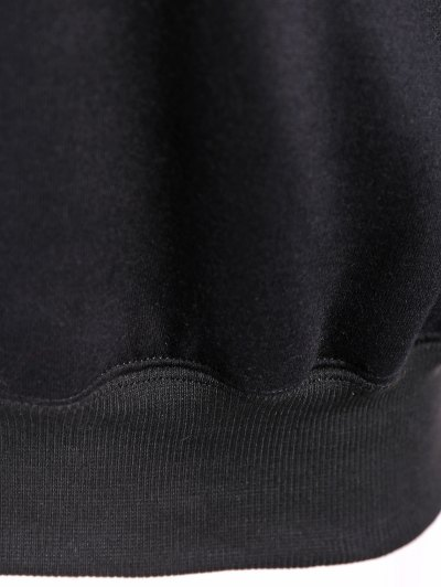 Merry Christmas Front Pocket Hoodie - BLACK 2XL Mobile