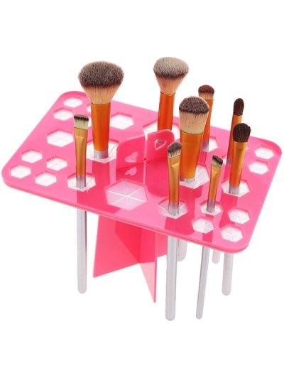 Makeup Drying Brush Tree - PINK  Mobile