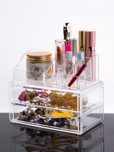 Makeup Organizer Drawer - TRANSPARENT  Mobile