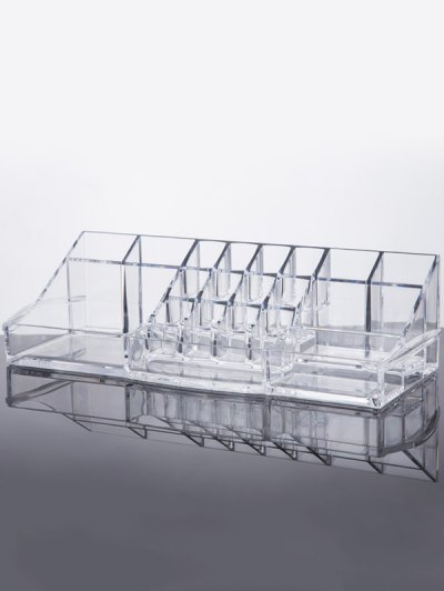 Vanity Makeup Organizer - TRANSPARENT  Mobile