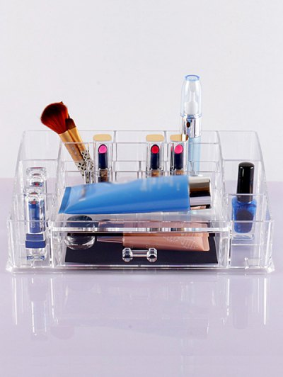Drawers Makeup Organizer - TRANSPARENT  Mobile