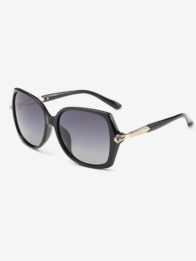 Butterfly Ombre Sunglasses - BLACK  Mobile