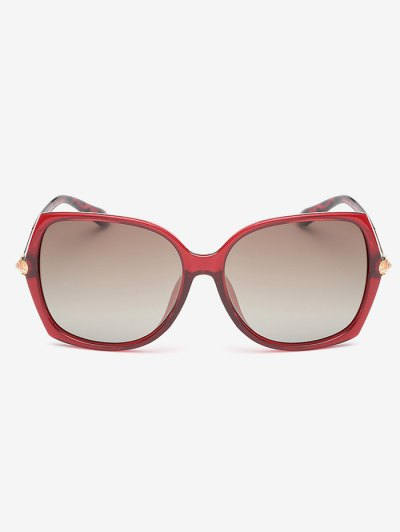 Butterfly Ombre Sunglasses - RED  Mobile