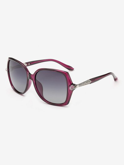 Butterfly Ombre Sunglasses - PURPLE  Mobile