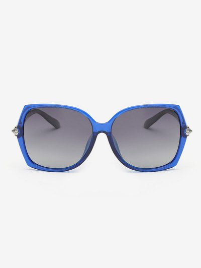 Butterfly Ombre Sunglasses - BLUE  Mobile