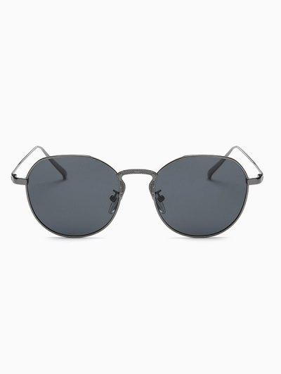 Metal Frame Pilot Sunglasses - GUN METAL  Mobile