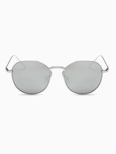 Pilot Mirrored Sunglasses - SILVER  Mobile