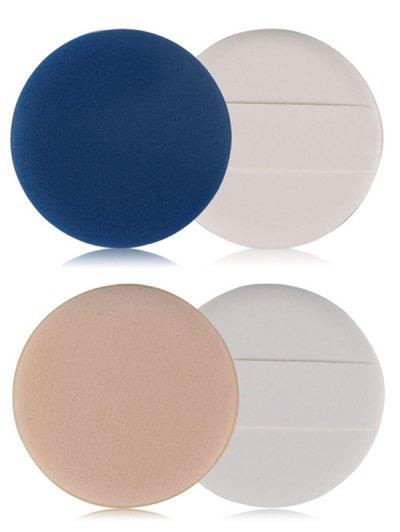 7 Pcs Calm Makeup BB Cream Powder Puffs - BLUE  Mobile
