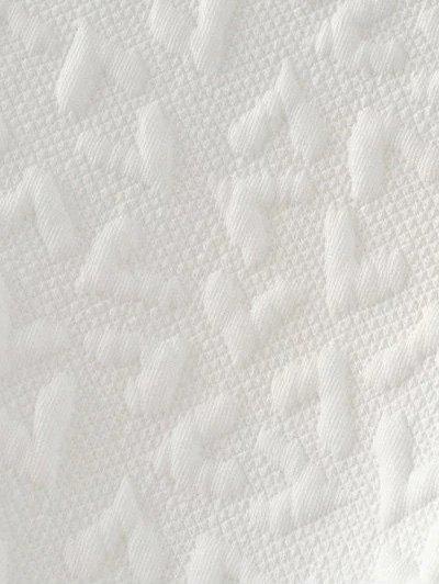 Cartoon Figure Print Sweatshirt - WHITE M Mobile