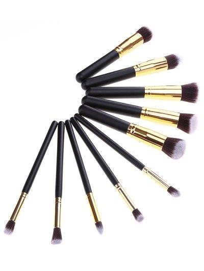 Makeup Brushes Set + Brush Egg + Beauty Blender - BLACK  Mobile