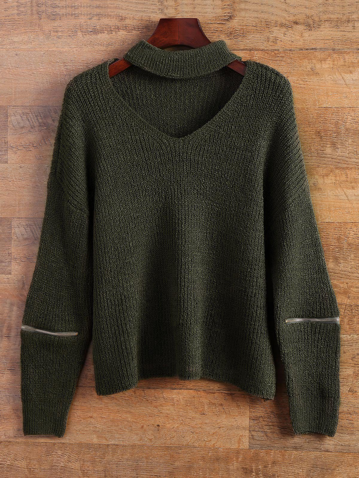 Choker Oversized Sweater