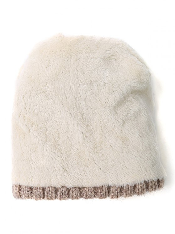 Chain Letter Embellished Pom Hat -   Mobile