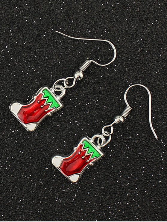 Christmas Boots Gift Earrings -   Mobile