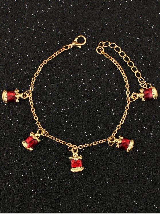 Christmas Bells Bracelet - GOLDEN  Mobile