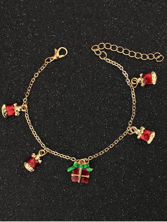 Christmas Gift Bells Charm Bracelet -   Mobile