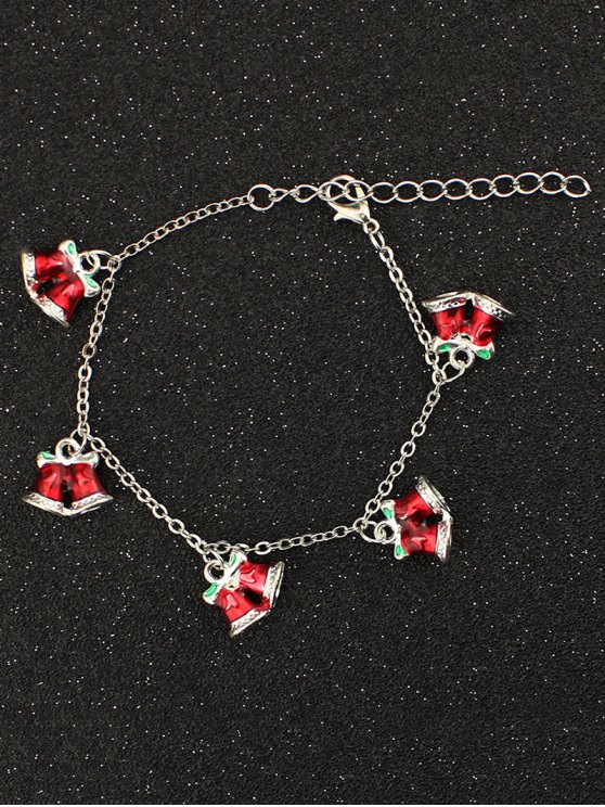 Bows Christmas Bells Bracelet -   Mobile