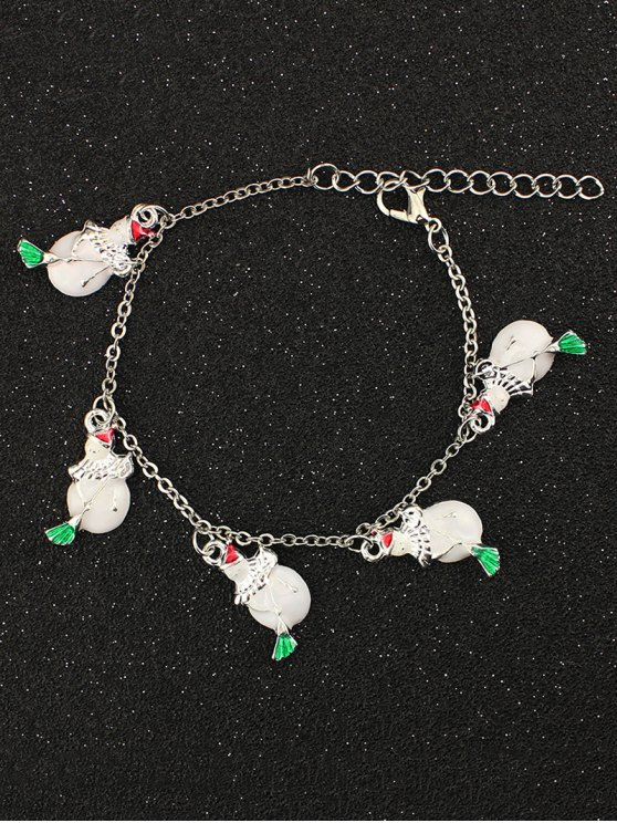 Snowman Christmas Bracelet -   Mobile