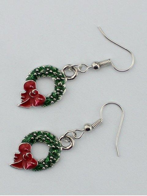 affordable Christmas Gift Garland Earrings -   Mobile