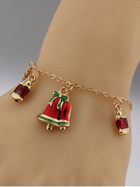 online Christmas Bows Bells Bracelet -   Mobile