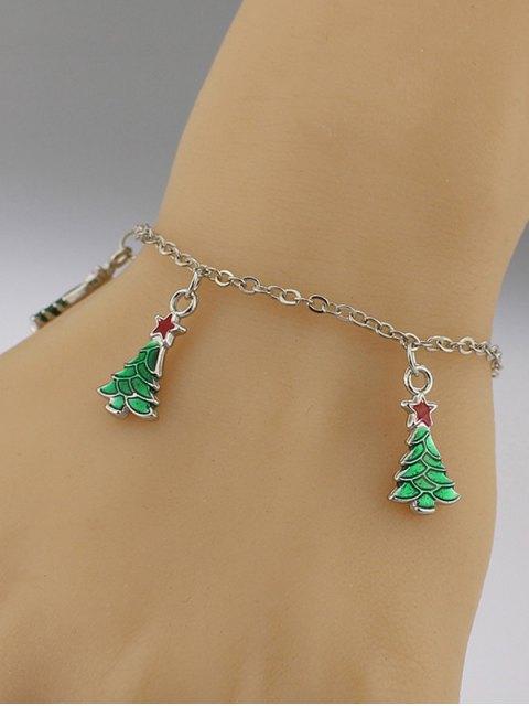 womens Christmas Tree Pentagram Bracelet -   Mobile