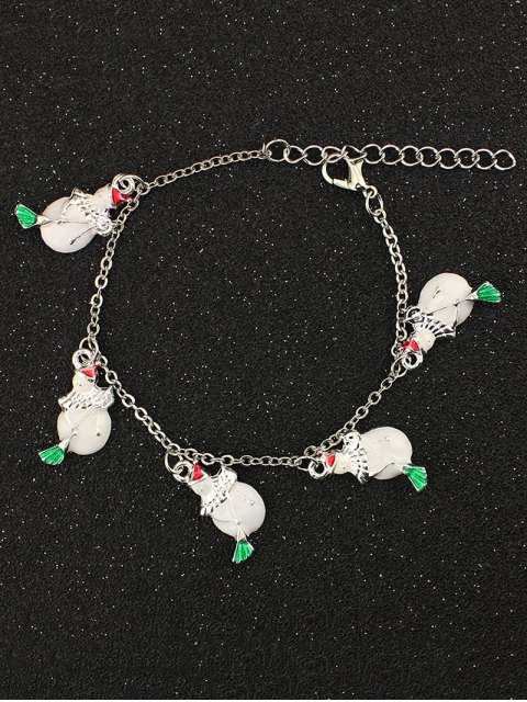 hot Snowman Christmas Bracelet -   Mobile