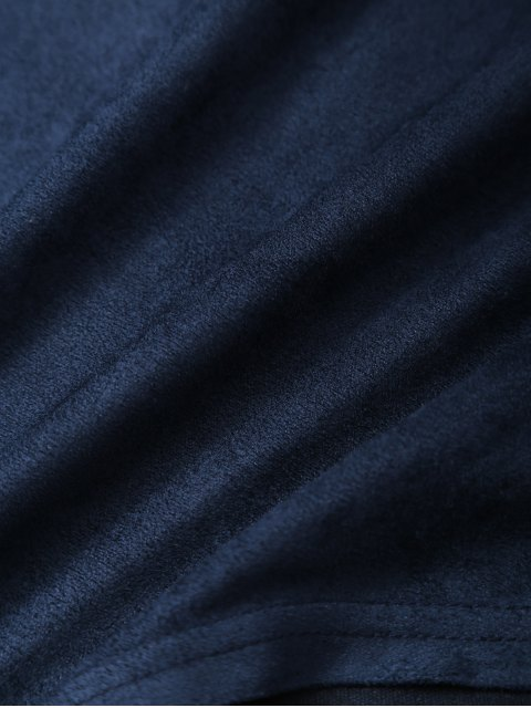new Halter Flounce Ruffles Bodysuit - DEEP BLUE S Mobile
