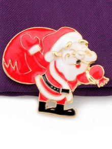 Christmas Santa Claus Gift Brooch